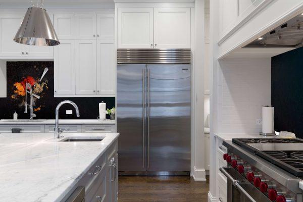 custom splashback kitchen